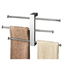 Bridge Towel Rail Set Wall Mounted in chrome