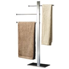 Bridge Towel Stand in Chrome