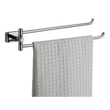 Minnesota Double Swing Towel Rail in Chrome