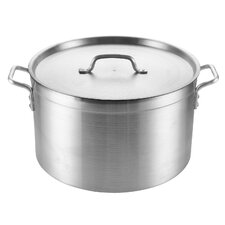 <strong>Cook N Home</strong> 30-qt. Stock Pot with Lid