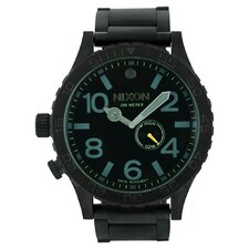 Men's 51-30 Watch with Black Dial