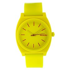 Men's Time Teller Plastic Watch