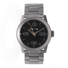 Men's Private Watch with Black Dial