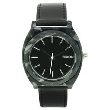 <strong>Nixon</strong> Women's Time Teller Watch with Leather Strap