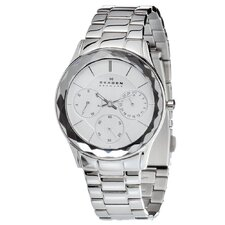 <strong>Skagen</strong> Steel Women's Crystal Watch