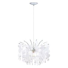 Fedra 1 Light Crystal Chandelier