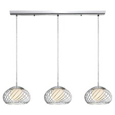 <strong>EGLO</strong> Thebe 3 Light Kitchen Island Pendant