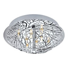 <strong>EGLO</strong> Cromer 8 Light Flush Mount