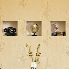<strong>Nisha</strong> 3D Effect Phone / Globe / Bust / Book Wall Decal