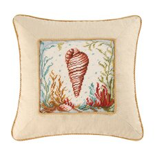 Natural Shells Tulip Shell Pillow