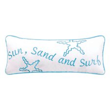 Surf's Up Starfish Quilt Pillow