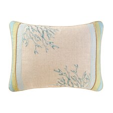 Natural Shells Patchwork Pillow