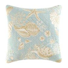 Natural Shells Quilt Throw Pillow