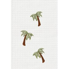 <strong>C & F Enterprises</strong> Palm Tree Kitchen Towel (Set of 2)