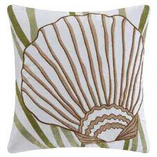 Shell Cotton Accent Pillow