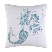 <strong>C & F Enterprises</strong> Cora Mermaid Cotton Accent Pillow