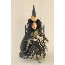 Gathered Traditions Thema Witch Figurine