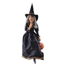 Gathered Traditions Clarice Witch Figurine