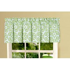 <strong>C & F Enterprises</strong> Boxwood Abbey Cotton Curtain Valance