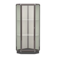 Prominence Series Corner Display Case