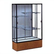 Reliant 2074 Series Case with Oak Base and Light Fixture