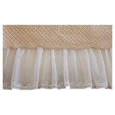 Daisy Dot Cotton Bedskirt