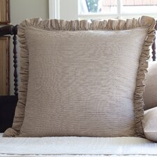 Farmhouse Stripe Ruffle Euro Sham