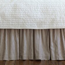 Farmhouse Stripe Bed Skirt
