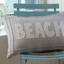 Natural Linen Beach Pillow