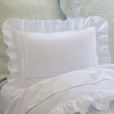 Prairie Crochet Cotton Breakfast Pillow