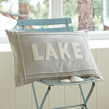 Natural Linen Lake Pillow