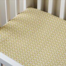 <strong>Taylor Linens</strong> Charleston Crib Fitted Sheet