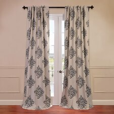 <strong>Half Price Drapes</strong> Tugra Blackout Curtain Single Panel