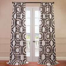 Mecca Printed Cotton Curtain Single Panel
