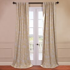 Sunburst Blackout Curtain Single Panel