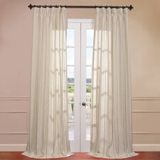 Trinidad Linen Blend Stripe Curtain Single Panel