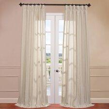Trinidad Linen Blend Stripe Curtain Single Panel