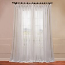 Signature Double Layered and Double Wide Sheer Curtain Single Panel
