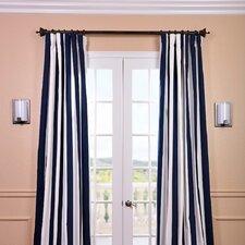 Cabana Printed Cotton Rod Pocket Curtain Single Panel