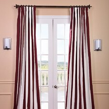 <strong>Half Price Drapes</strong> Cabana Printed Cotton Rod Pocket Curtain Single Panel