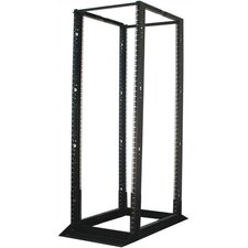 "14""D Open Floor Rack with 4 Posts - 45 RU"