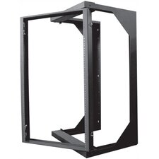 "18""D Swing Out Wall Rack - 20 RU"