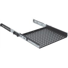 "14""-28""D Singled-Sided Slide-Out Vented Shelf - 1 RU"