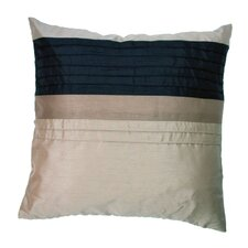 Pin Tuck Cushion Cover in Pewter