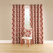 Dacota Lined Curtains with Eyelet Heading