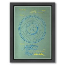 <strong>Americanflat</strong> Roulette Wheel I Framed Art