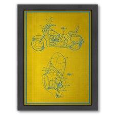 <strong>Americanflat</strong> Motorcycle Framed Art