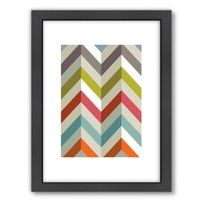 Chevrons Framed Graphic Art