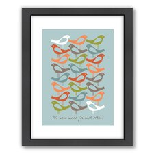 Birds Framed Graphic Art