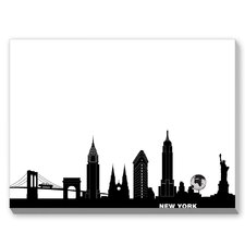 New York City Graphic Art on Canvas